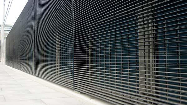 幕墙背景设计制造图