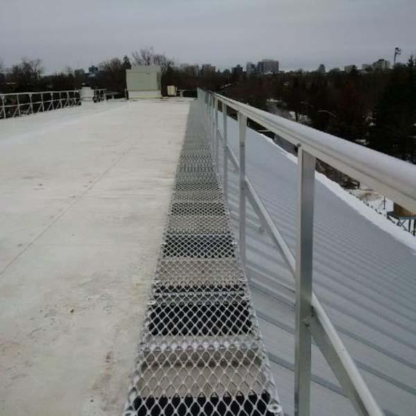 步道铝格板规格|建筑工地安全通道搭设要求