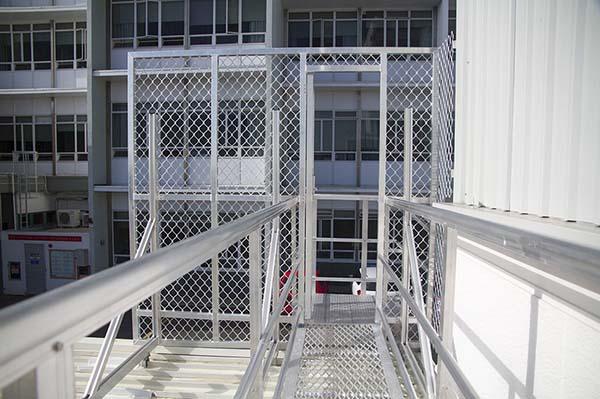 安全通道系统,楼梯安全通道定制