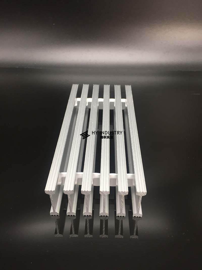 铝格栅方条图|东莞铝格栅