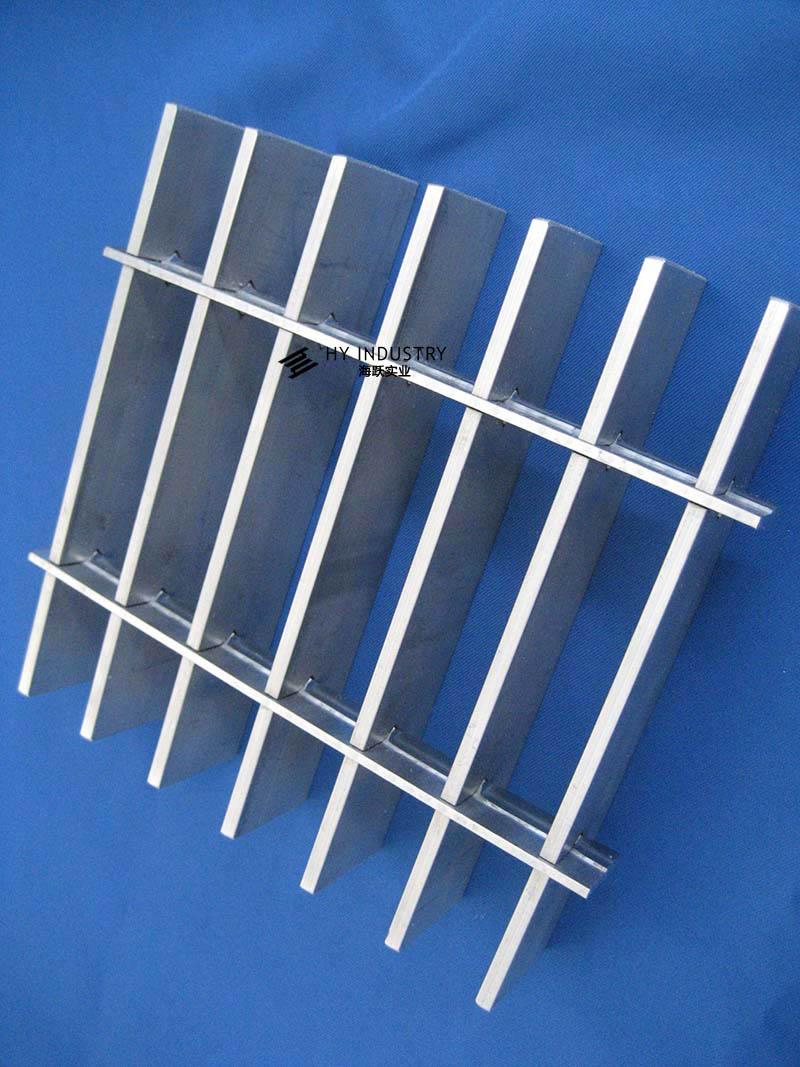 上海铝格栅|铝格栅门