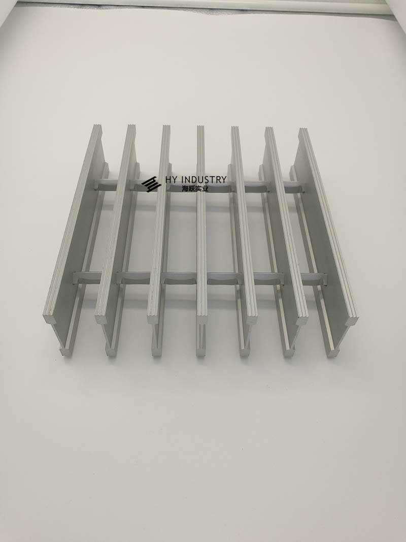 条形铝格栅天花|铝格栅效果图片