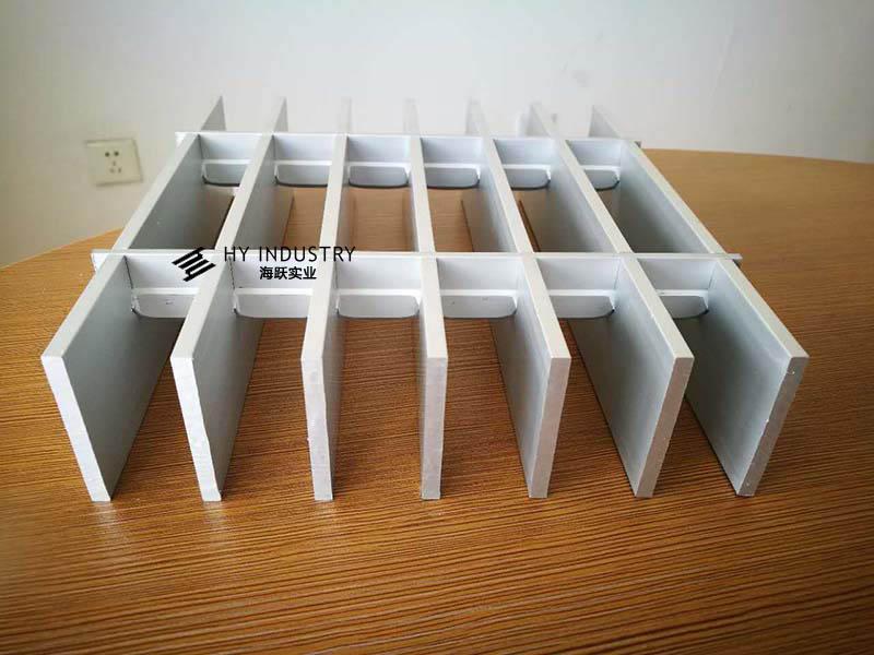 铝格栅吊顶材料|铝格栅吊顶厚度