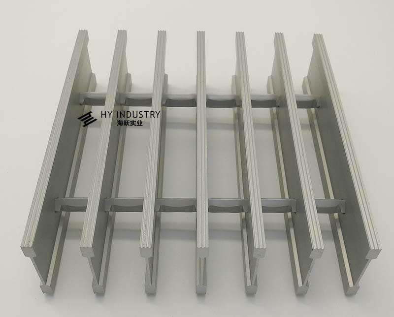 三角型铝格栅|无锡铝格栅厂