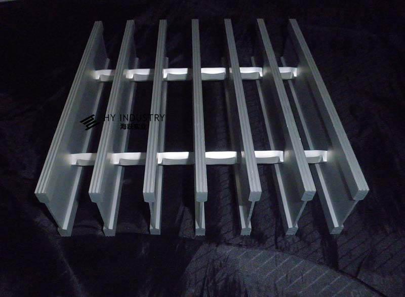铝格栅怎样安装|外墙铝格栅厂