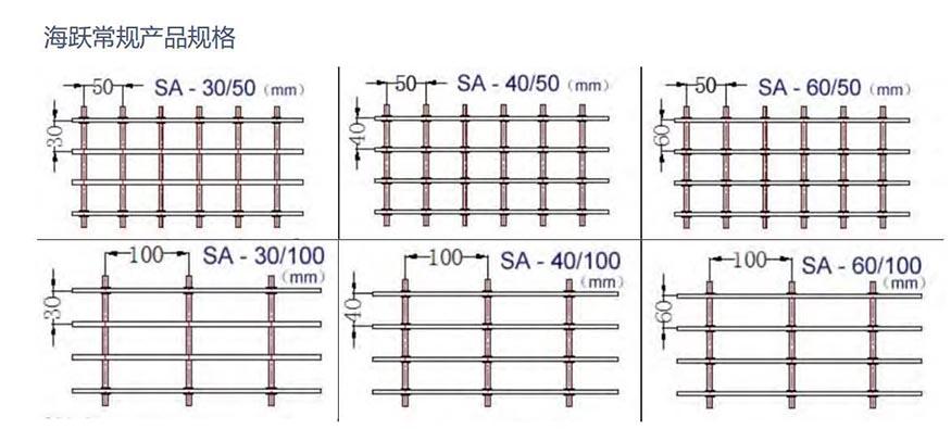 铝格栅产品规格