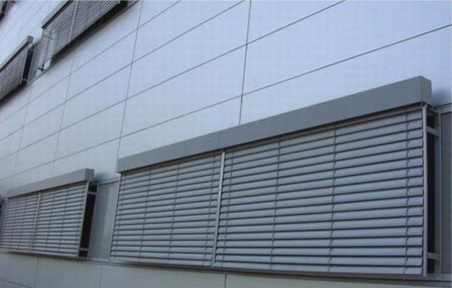 幕墙50系列铝百叶窗价格|南昌铝格栅百叶窗价格