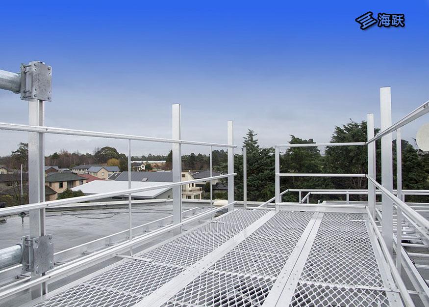 新西兰航空办公楼钢格板步道系统