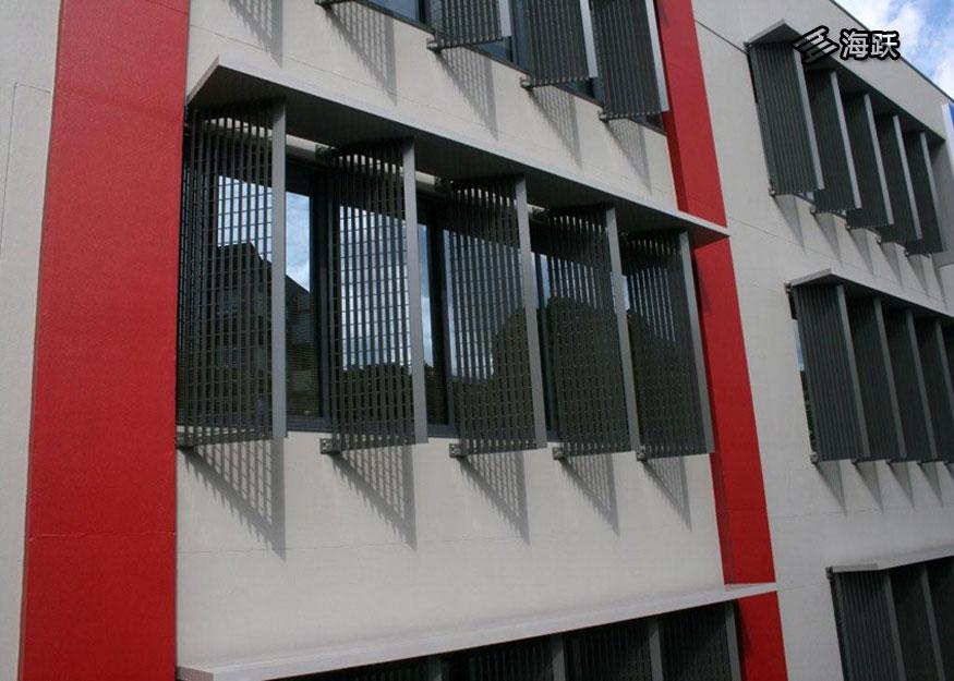 办公楼铝百叶幕墙设计