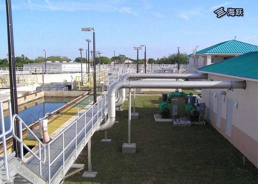 美国佛罗里达可可滩回收水处理厂环保设备及步道系统