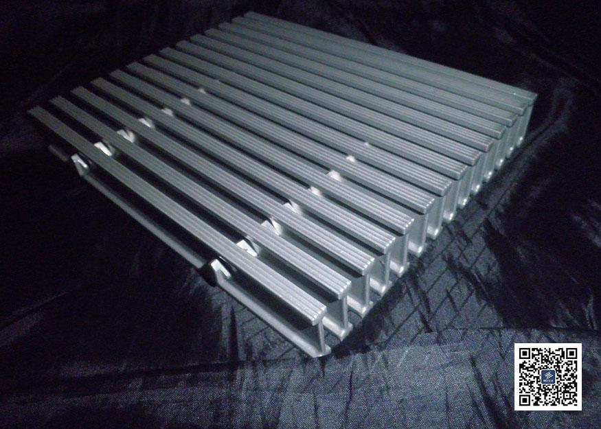 工型铝格板图