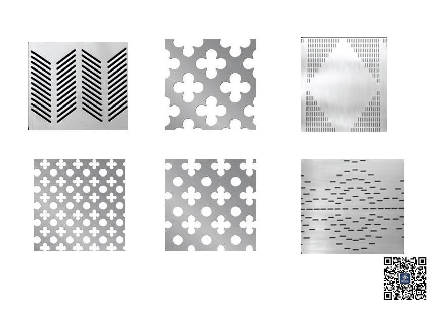 铝合金图像冲孔板