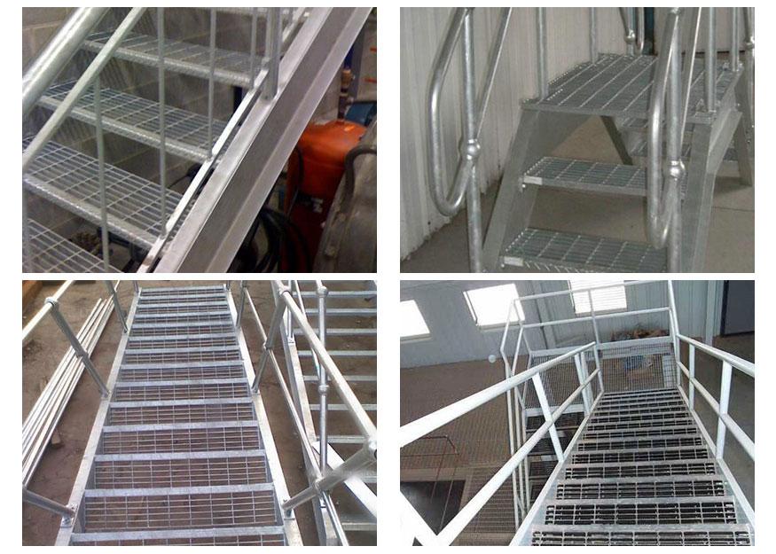 楼梯踏步板钢格板