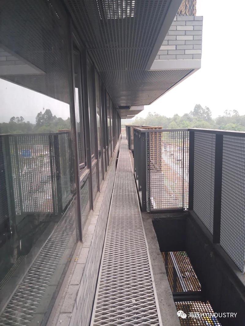 铝格栅踏步板阳台检修安全步道